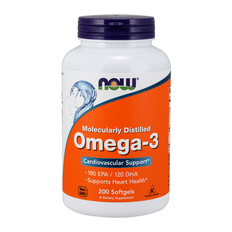 OMEGA-3 MOLECULARLY DISTILLED 200 GELS