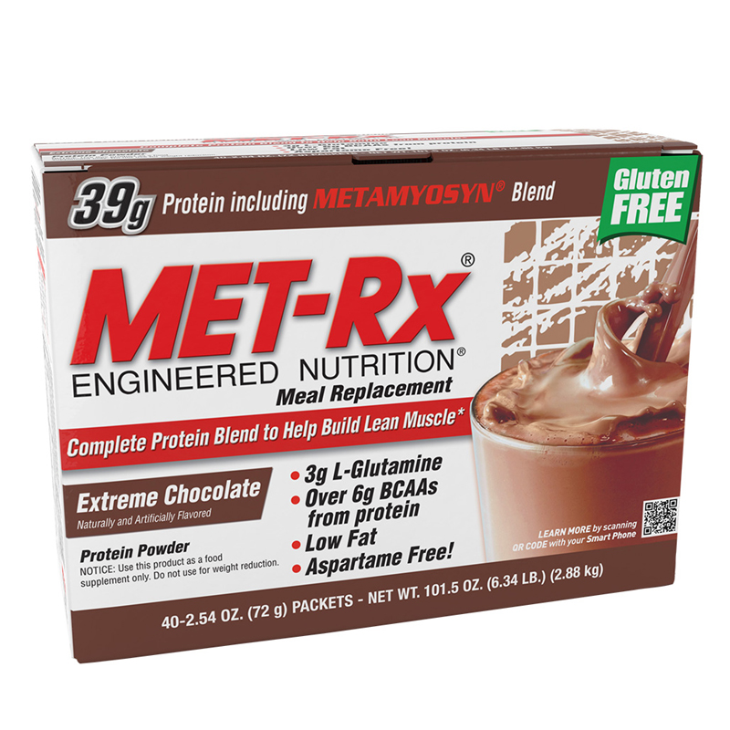MEAL REPLACEMENT PROTEIN POWDER 40 PACK