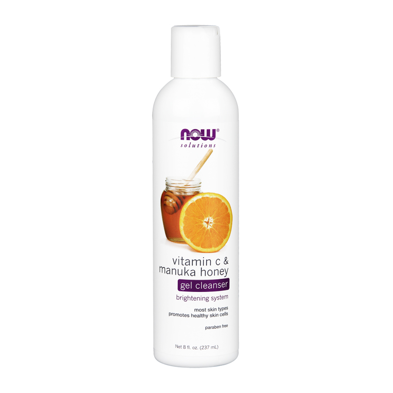 VITAMIN C & MANUKA HONEY GEL CLEANSER 8 FL OZ