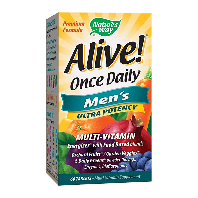ALIVE ONCE DAILY MEN'S 60 TABS