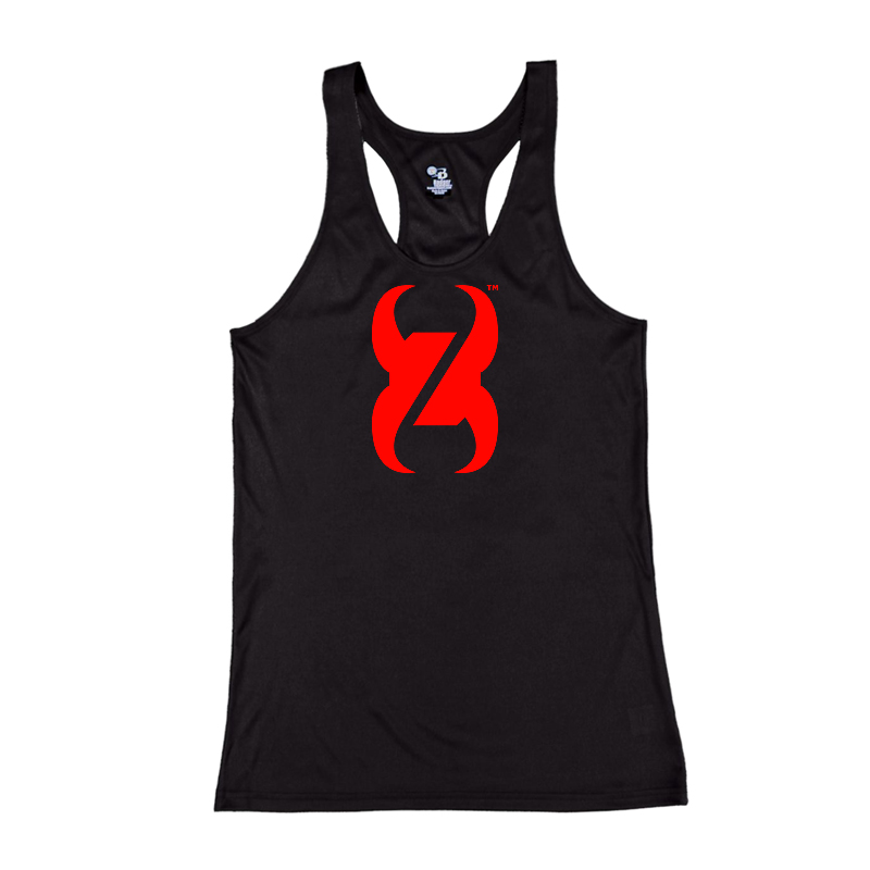 WOMAN'S TANK TOP MONSTER LOGO ATTACHED