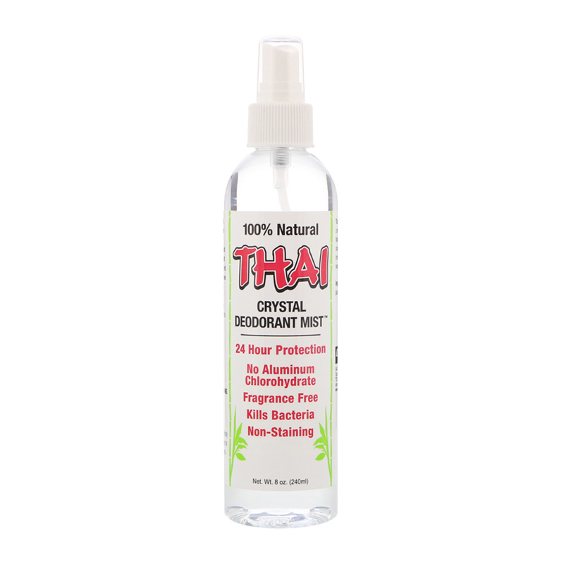 THAI NATURAL CRYSTAL DEODORANT MIST SPRAY 8 FL OZ