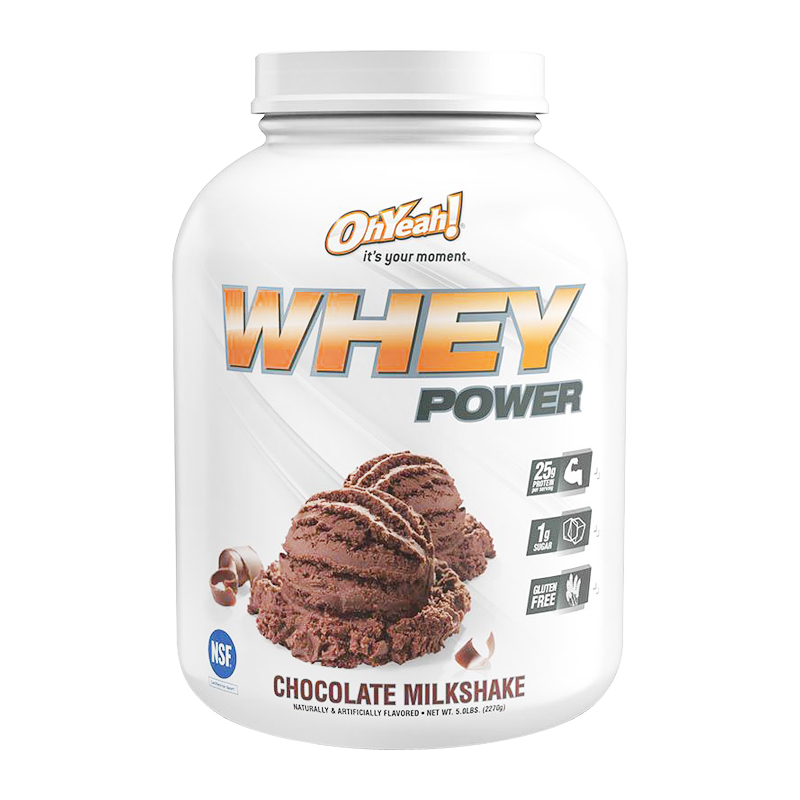 OH YEAH WHEY POWER 5 LBS