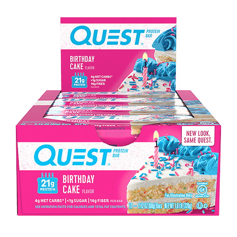 QUEST PROTEIN BAR 12 EA