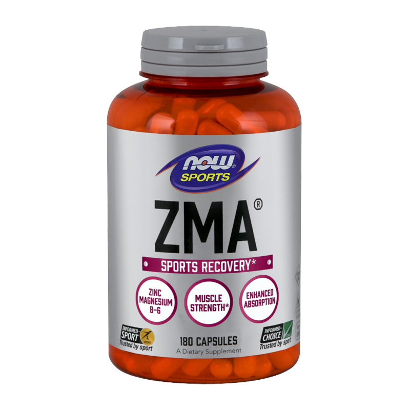 ZMA SPORTS RECOVERY 800MG 180CAPS