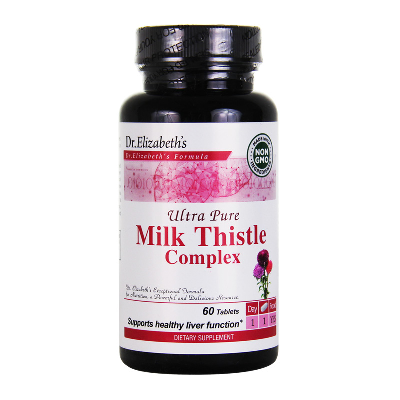 ULTRA PURE MILK THISTLE COMPLEX 60 TABS