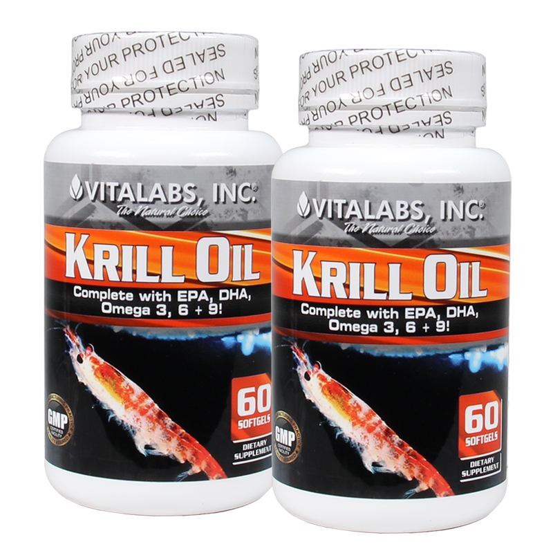 KRILL OIL 60 SGELS (DOUBLE PACK)